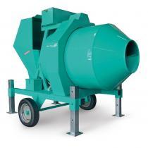   Betoniera semi-automata BIR 500, motor diesel Kohler, 28.5 cp, capacitate 500 l, productie beton 12m³/h  
