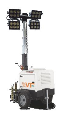 Turn de lumina GENERAC VT-EVO K 4x320W