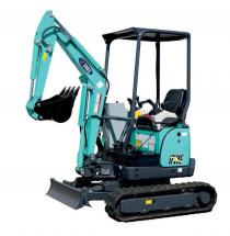 Mini excavator 17 VXE VXT