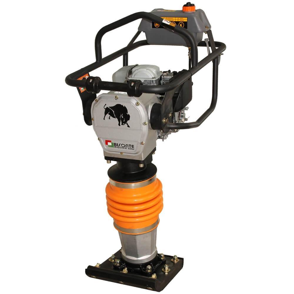 Вибротрамбовка бензиновая MC72-H, 14 kN, двигатель Honda, 68 кг, BISONTE