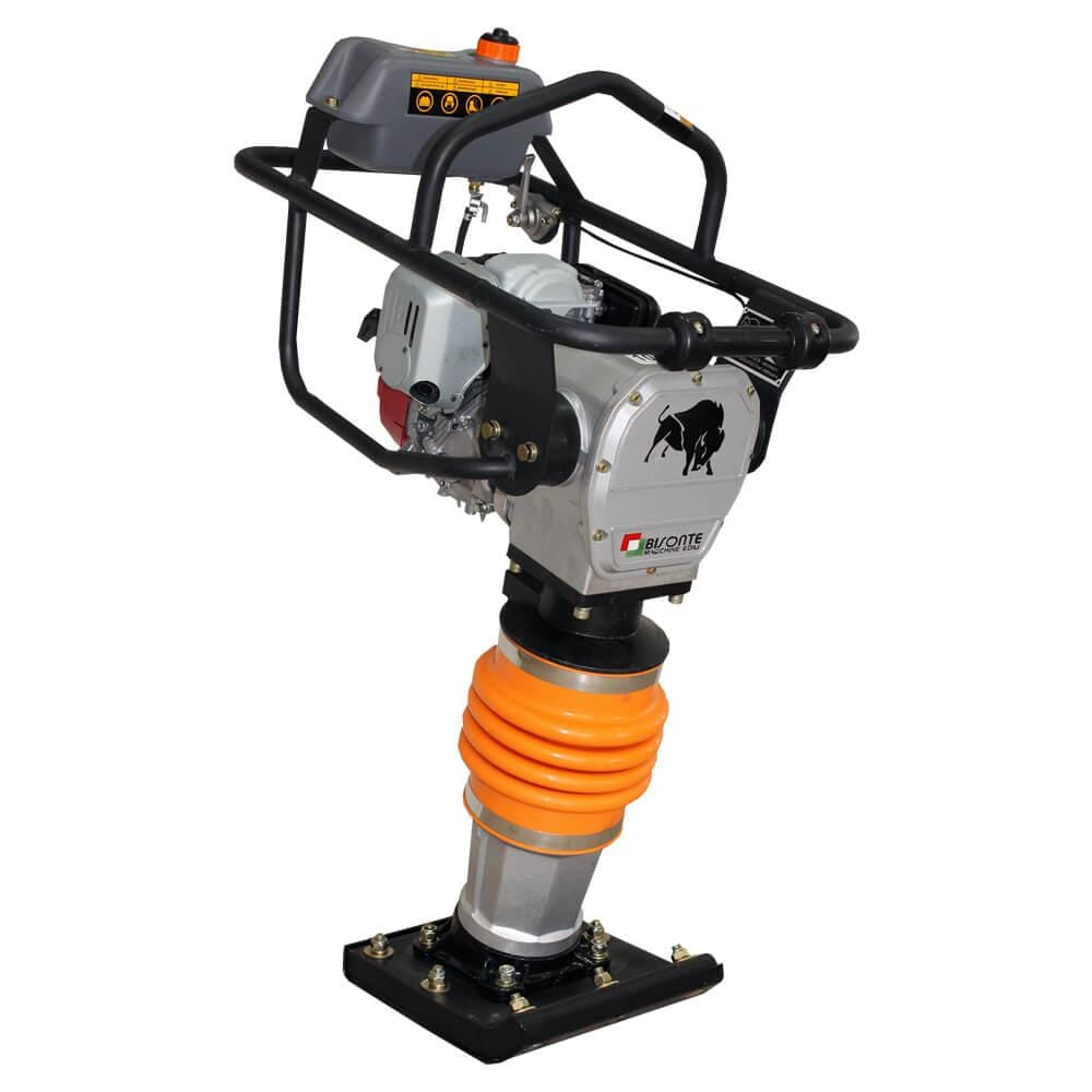 Mai compactor MC72-H benzina, 14 kN, motor Honda, 68 kg, BISONTE