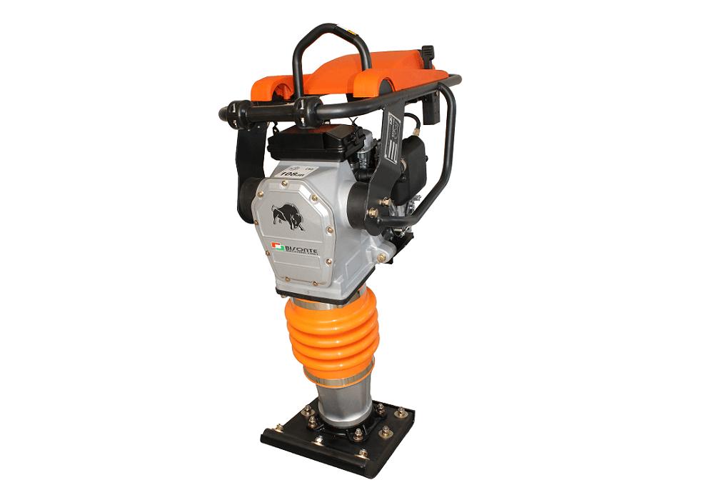 Вибротрамбовка бензиновая MC75-H, двигатель HONDA, 70 кг, BISONTE