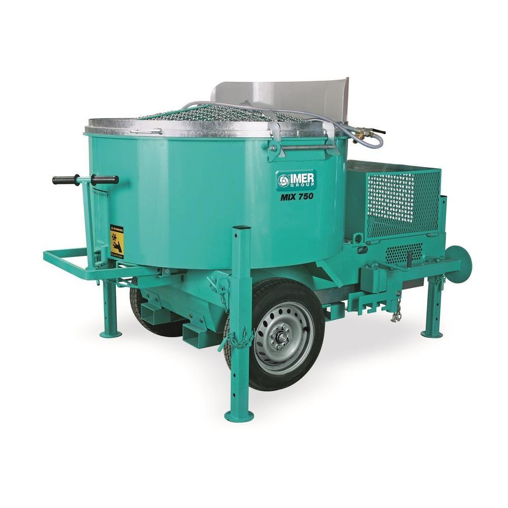 Mix 750, capacitate 750 l, motor 400V, 4 kW