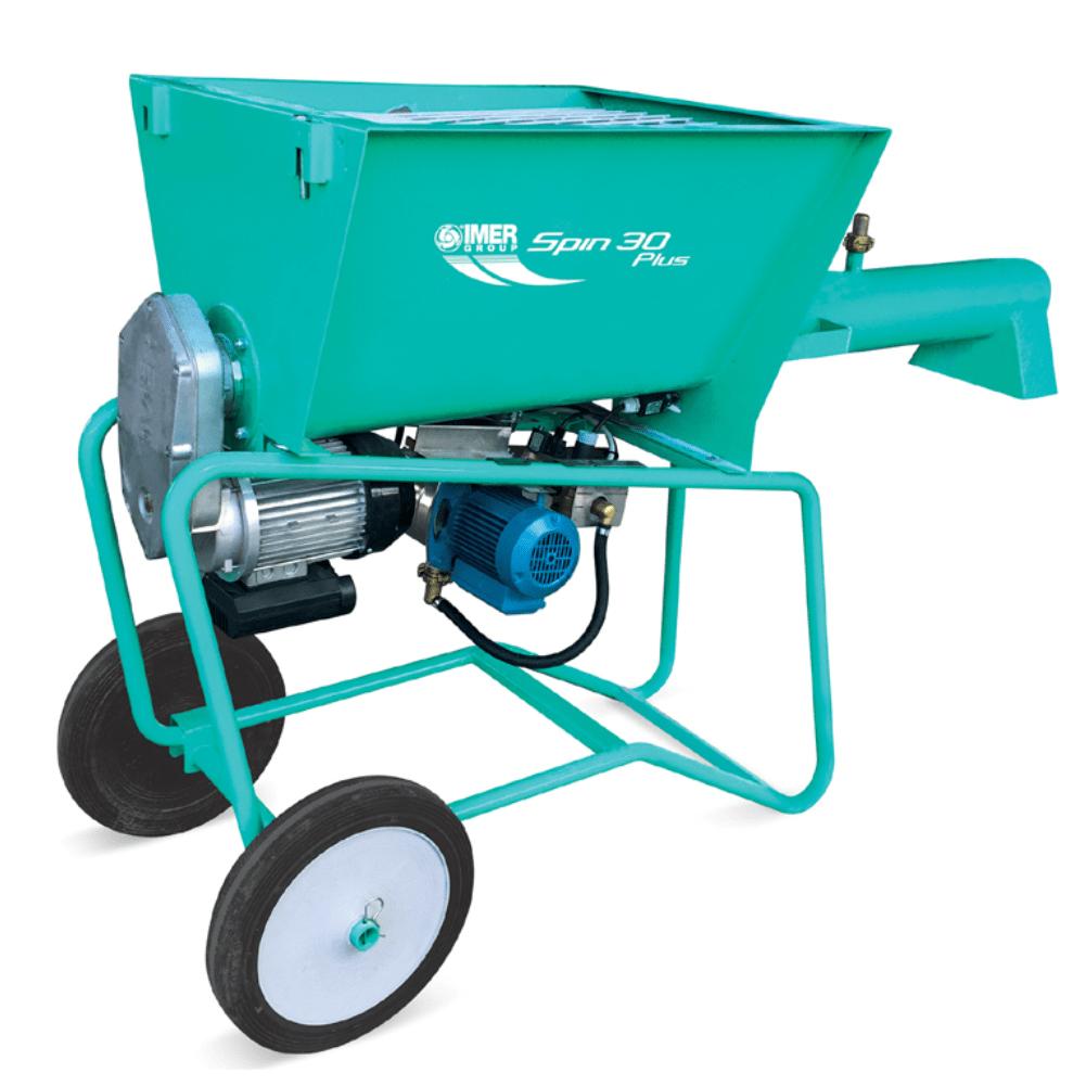 Spin 30 Plus, capacitate 110 l, motor 400V, 3.0 kW