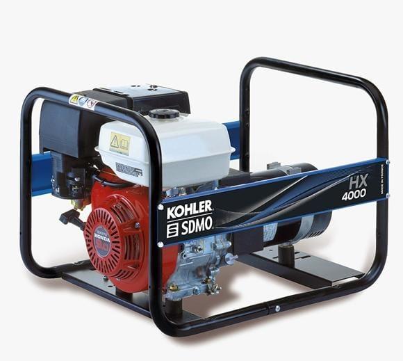 Generator de curent benzina HX 4000 C 3.70kW 230V SDMO