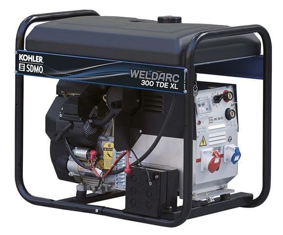Сварочный электрогенератор SDMO WELDARC 300 TDE XL C