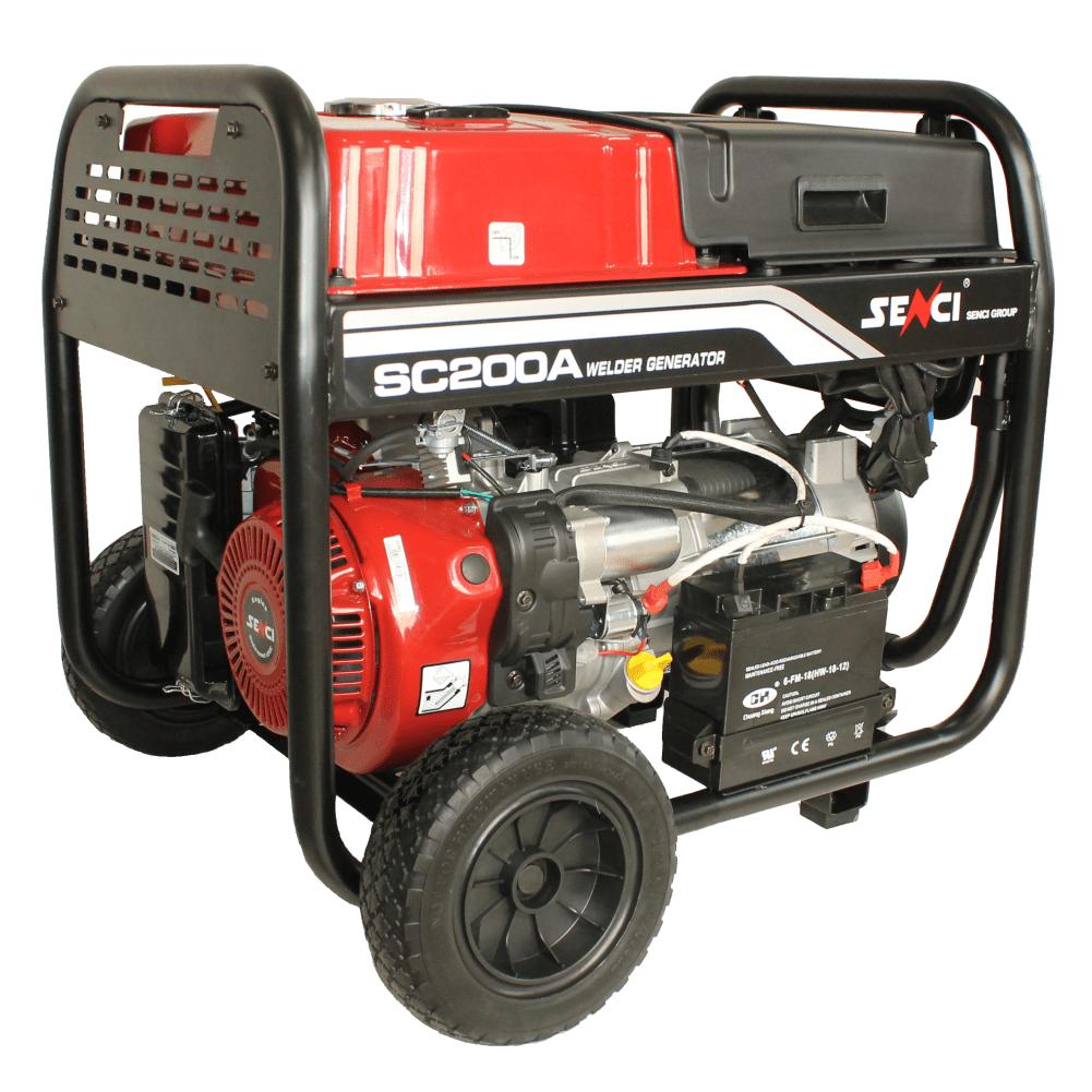Generator SC-200A, Putere max. 5.5 kw, 230V, AVR, motor benzina