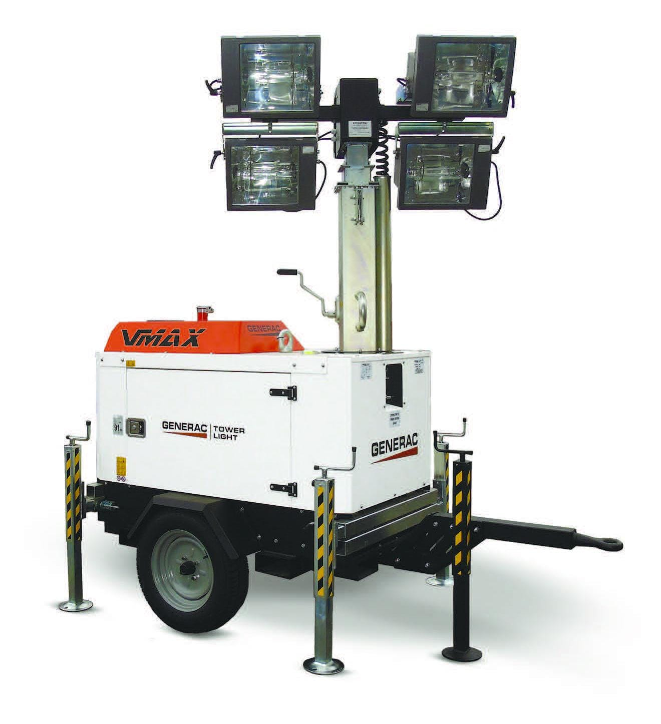 Turn de lumina GENERAC V-MAX Y 4x1000W
