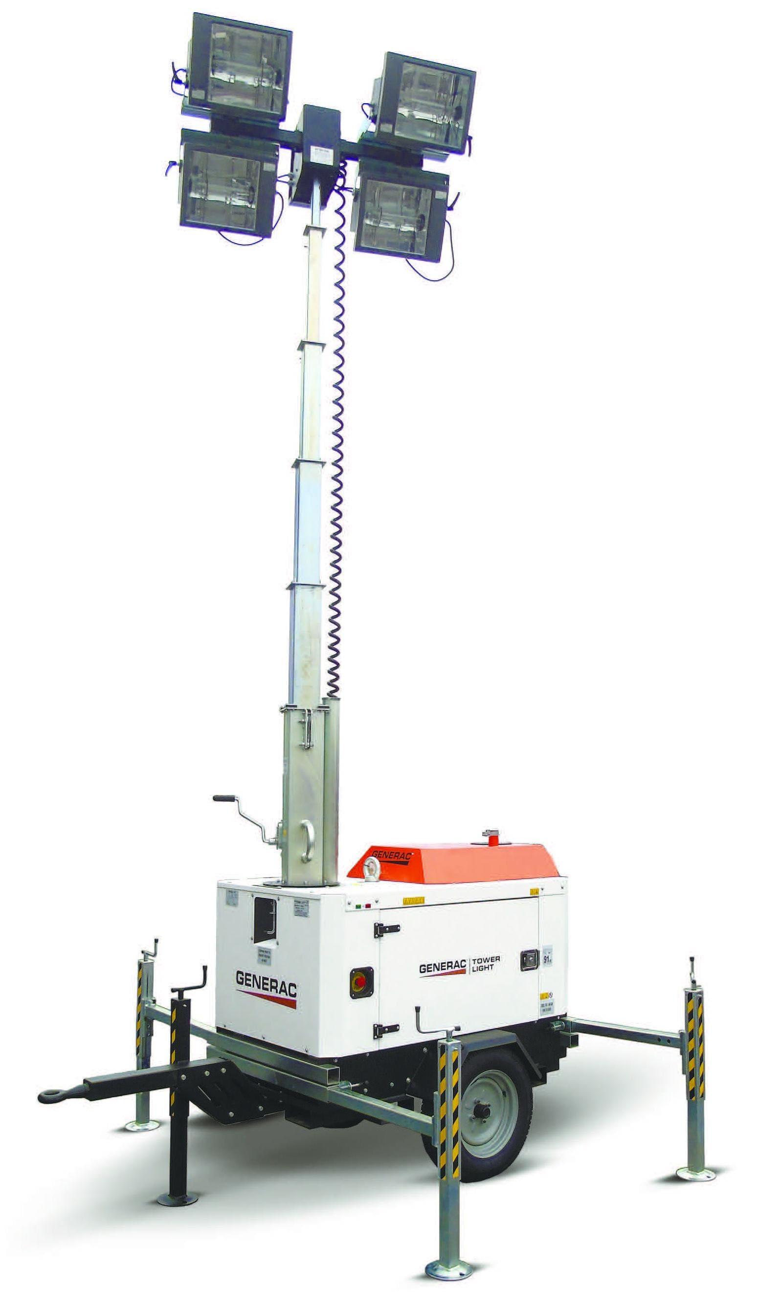 Башня света GENERAC V-MAX K 4x1000W