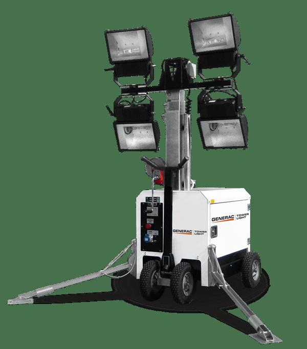 Башня света GENERAC MT1 MH 4x400W