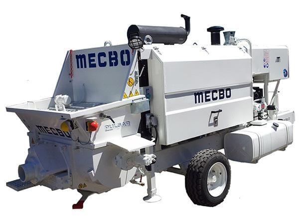 Pompa beton MECBO P4.90 Diesel, 150cp