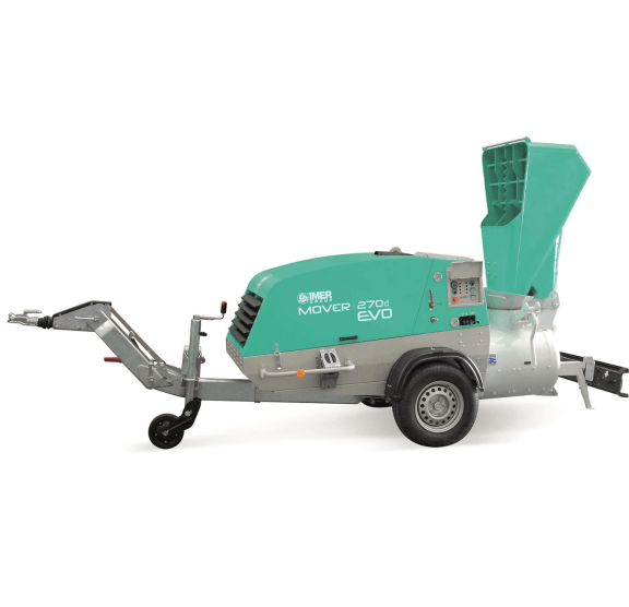 Mover 270 EVO DBR Pompa diesel pentru sapa cu paleta incarcare, remorcabila 47.0 cp