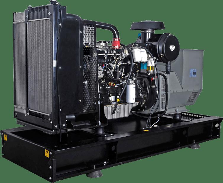 Generator de curent diesel BAUDOUIN B-17 13,6 kW 400/230V