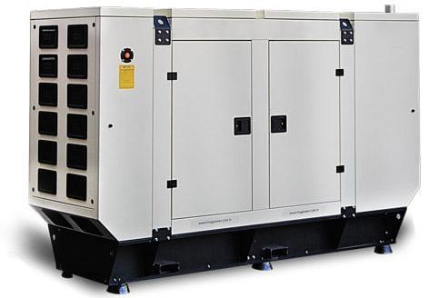 Generator de curent insonorizat diesel BAUDOUIN B-110 88 kW 400/230V