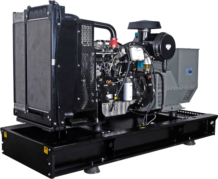 Generator de curent diesel YANGDONG YD-22 17,6 kW 400/230 V