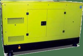 Generator de curent insonorizat diesel INTER I-25 20 kW 400/230 V