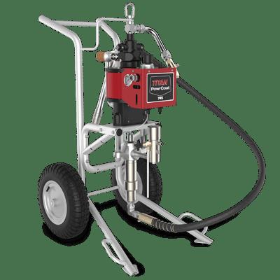 PowerCoat 745 - Echipament pneumatic pentru aplicat materiale vascoase