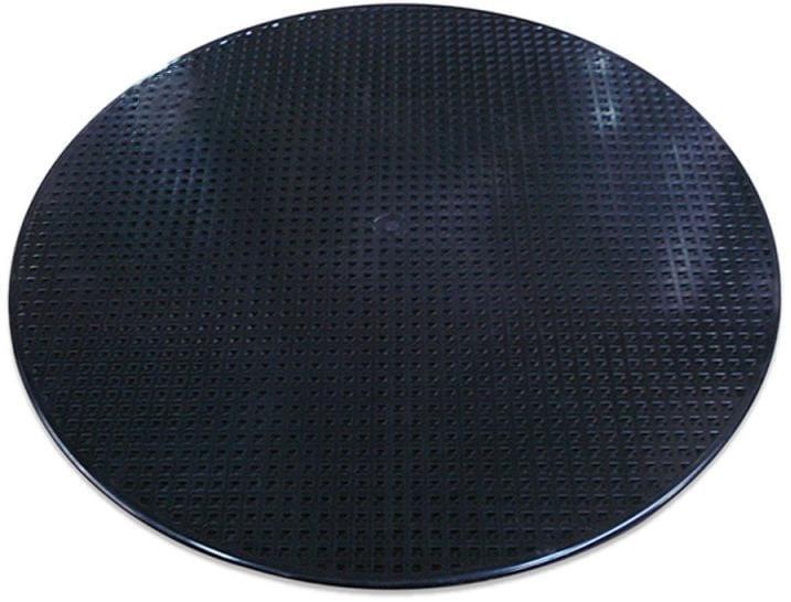 Disc plastic pentru tencuieli brute (negru)