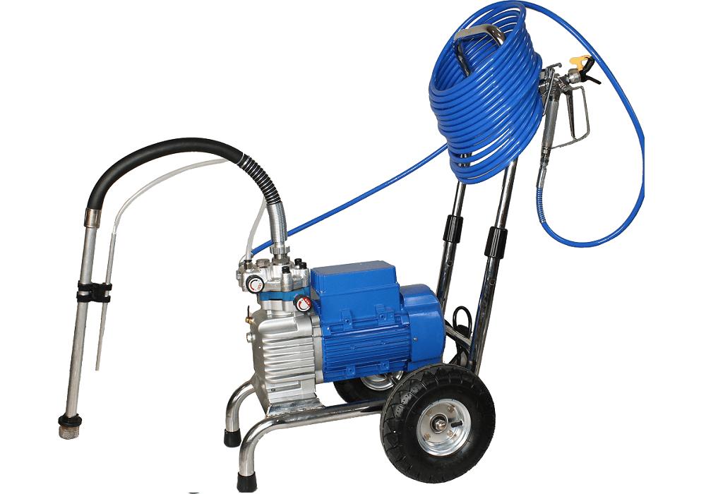Pompa airless BISONTE PAZ-6860e pentru zugraveli/vopsitorii