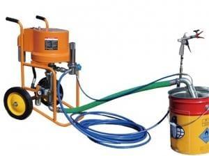 Pompa airless BISONTE PAZ-6C pentru zugravit/vopsit