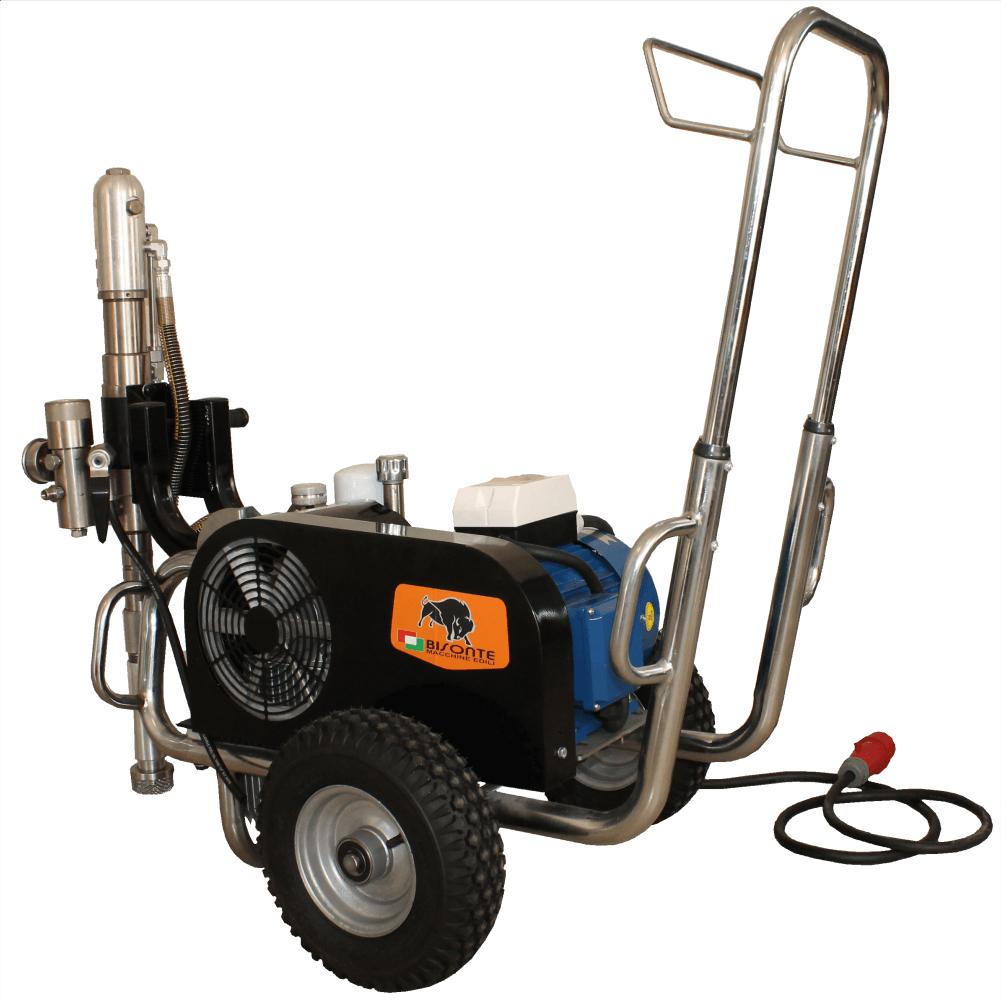 Pompa airless hidraulica BISONTE PAZ-9600e pentru vopsit / zugravit si gleturi lichide