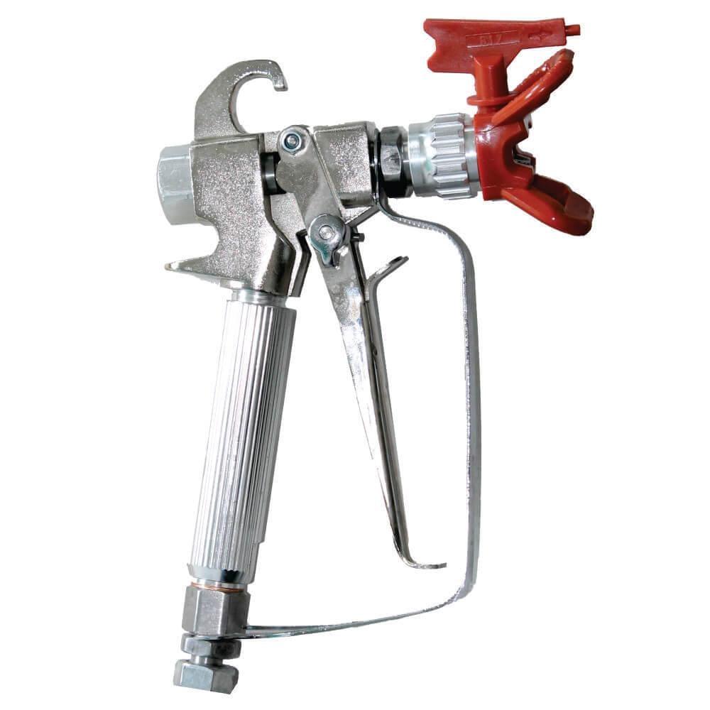Pistol pentru pompa sistem Airless, filtru interior maner