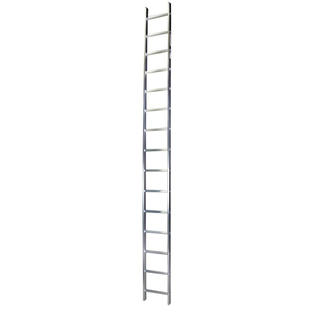 STR115 Scara simpla 15 trepte, 4,13 m aluminiu