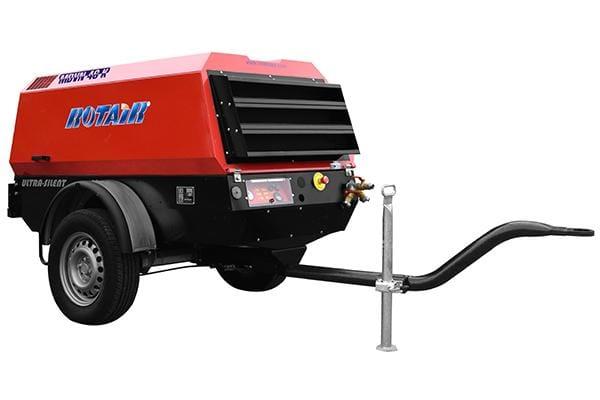 MDVN 46K debit 4500 l/min., presiune de lucru 7 bar, motor diesel Kubota