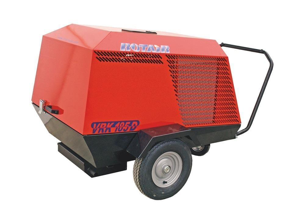 VRK 185D diesel debit 1800 l/min., presiune de lucru 7 bar, motor Kubota