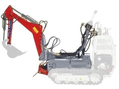 Mini-excavator (adancime max. 1485 mm)