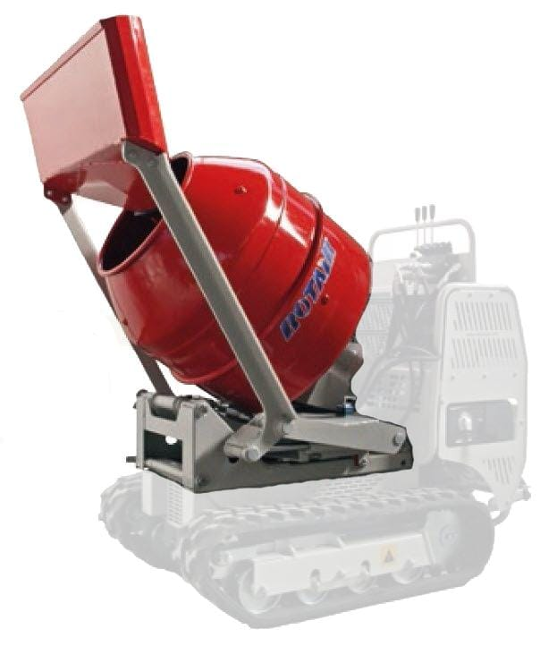 Betoniera IMER 220 litri + paleta pentru autoincarcare