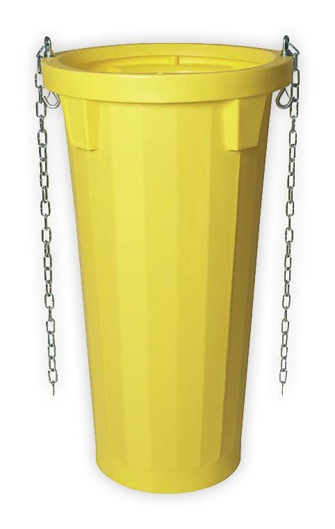 Tub standard de evacuare 1060mm - Galben