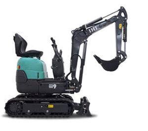 Mini excavator 9 VXE