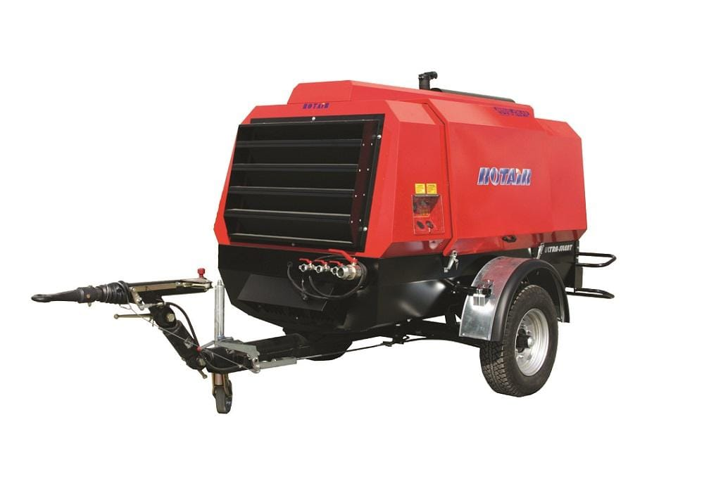 MDVS95, debit 10.000 l/min. - 12 bar, motor diesel