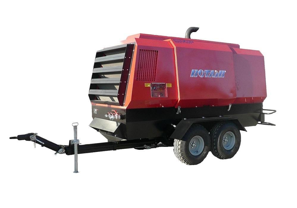 MDVS185, debit 15.000-18.500 l/min, presiune 12-8 bar, motor diesel