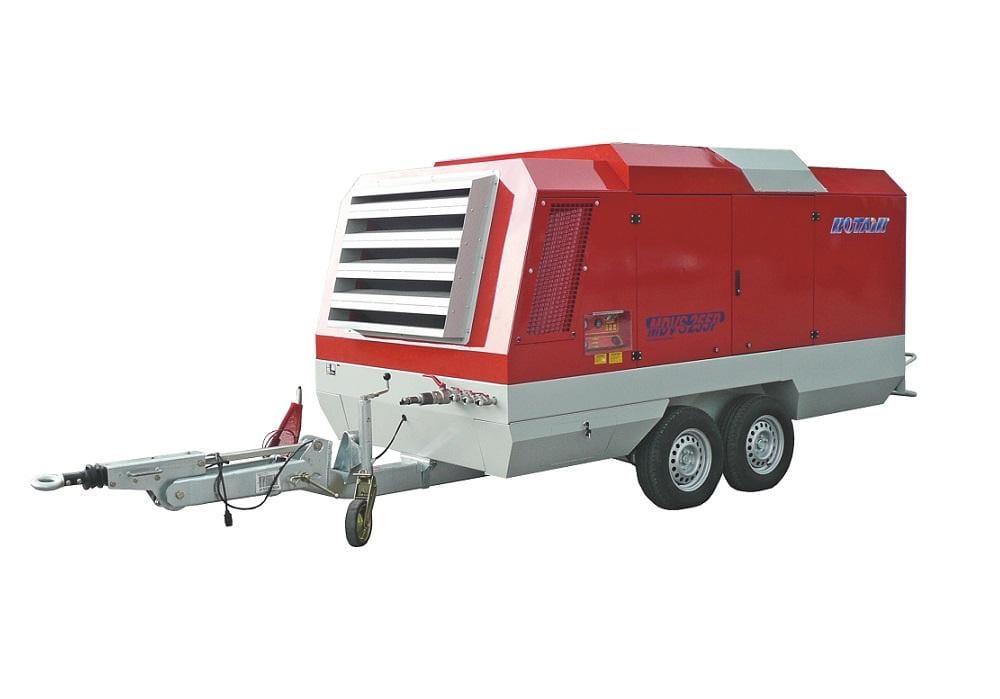 MDVS255, debit 18.000-25.300 l/min, presiune 12-8 bar, motor diesel