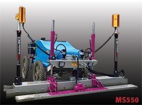 Vibro rigla automatizata cu laser MS550