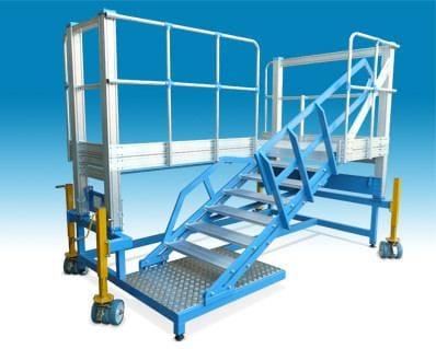 Platforma mobila cu scari