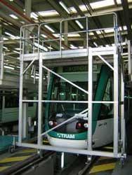 Platforma mobilă din aluminiu pentru Barcelona TRAM BAIX