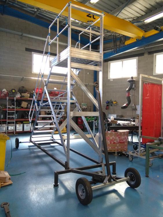 Platforma rabatabila din aluminiu pentru aeroporturi 2
