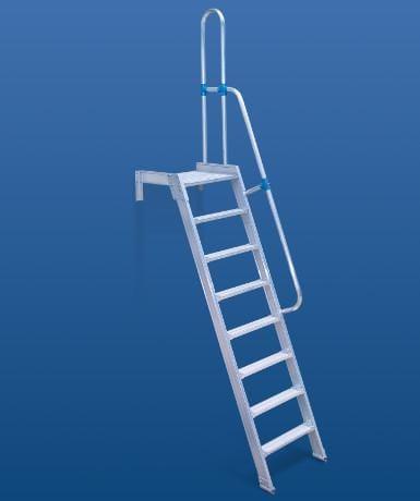 Lucrează și accesează scara verticală