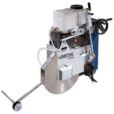 Masina de taiat asfalt/beton FS 20 D LISSMAC