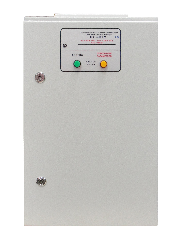 Transformator de separare medical ТPО – 1000М IP20