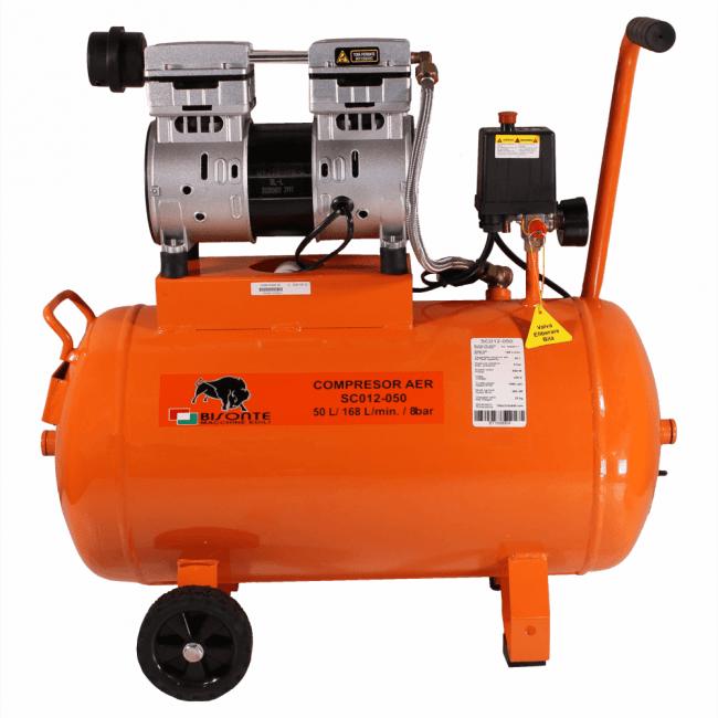 Compresor fara ulei BISONTE SC012-050