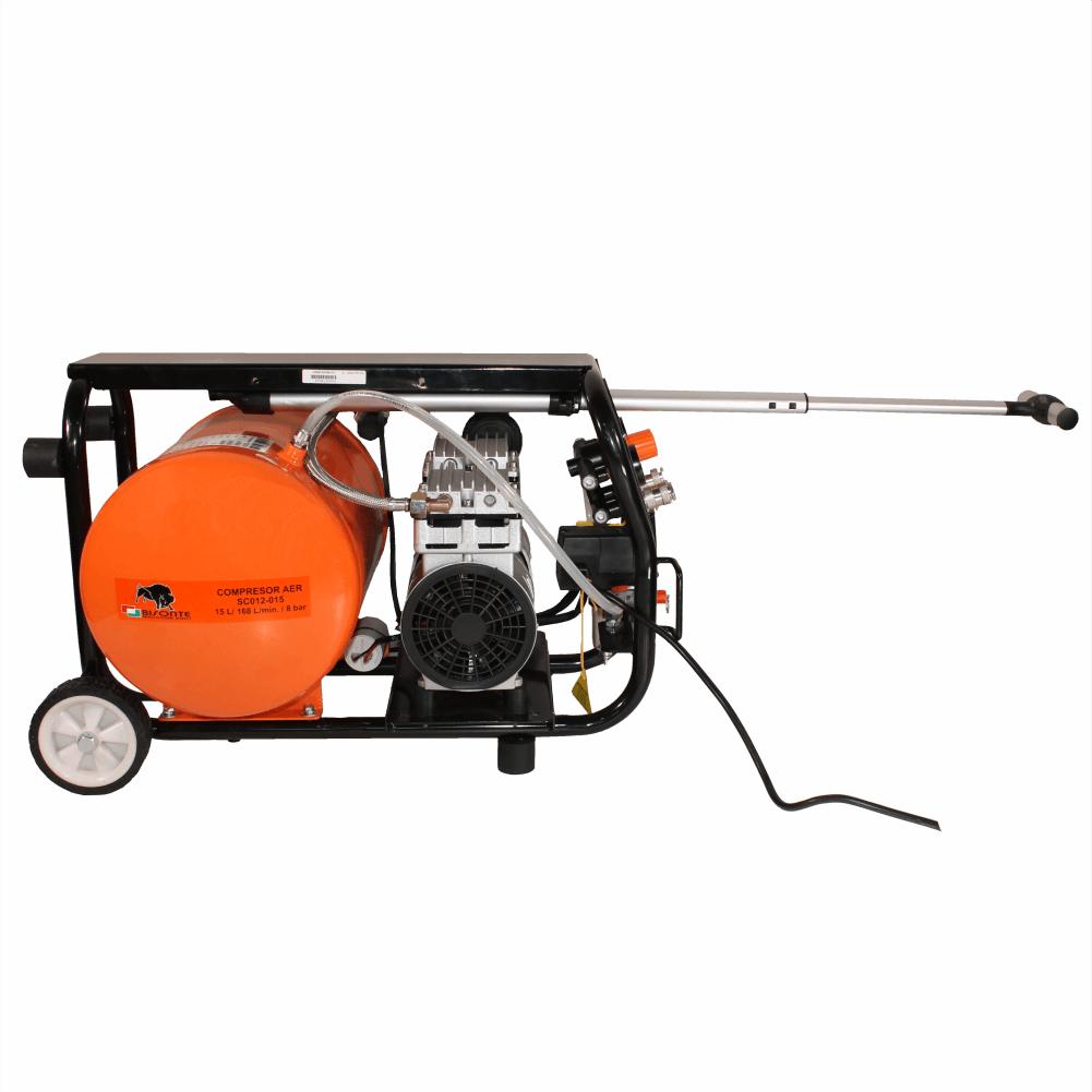 Compresor fara ulei BISONTE SC012-015
