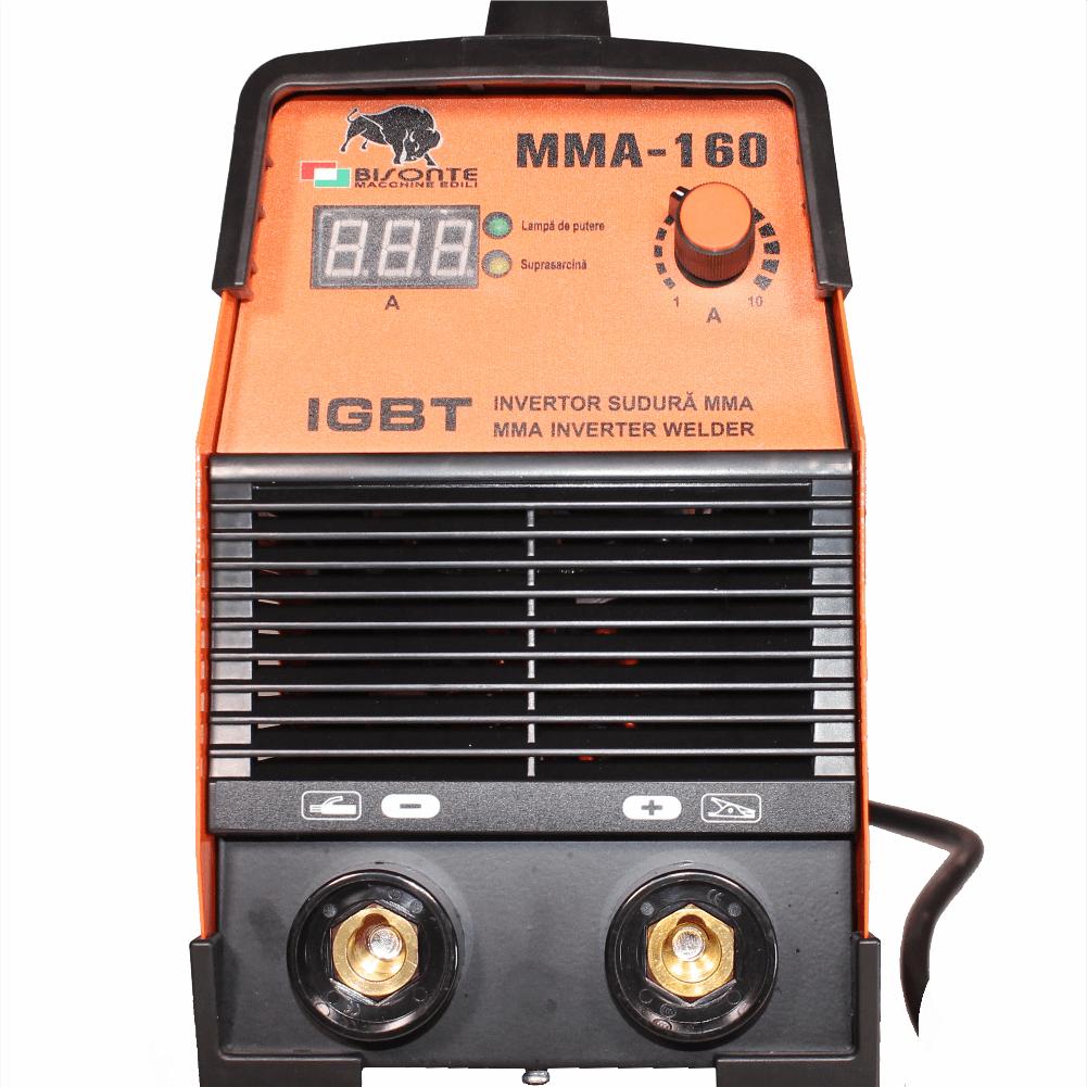 Aparat de sudura tip inverter BISONTE MMA-160 IGBT